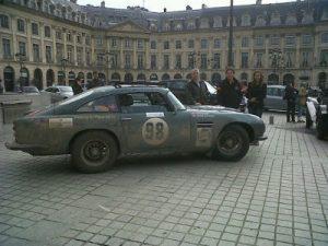 De Pékin à Paris en Aston Martin DB5